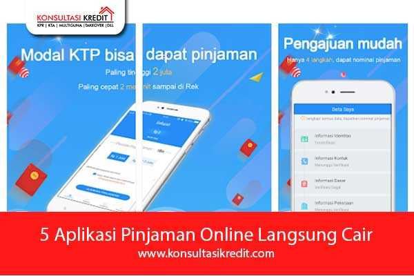 5 Aplikasi Pinjaman Online Langsung Cair Konsultasi Kredit